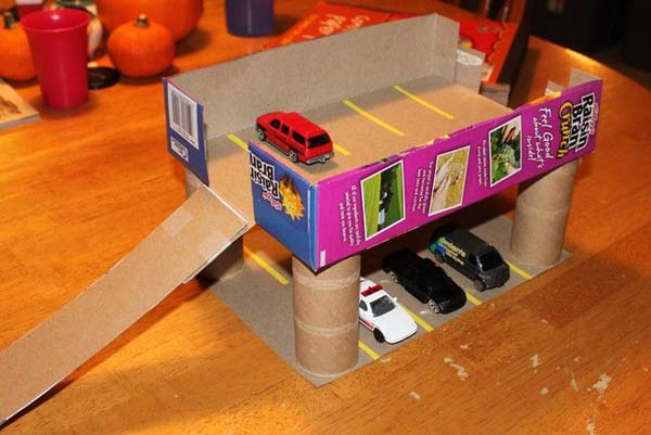 Дети как сделать из коробки 448