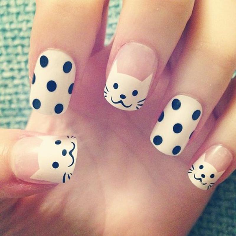 Фото детского дизайна ногтей