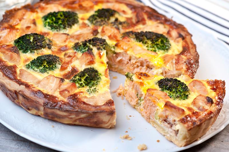 Пироги с семгой рецепты