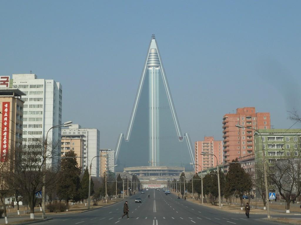 Ryugyong-Oteli-Kuzey-Kore
