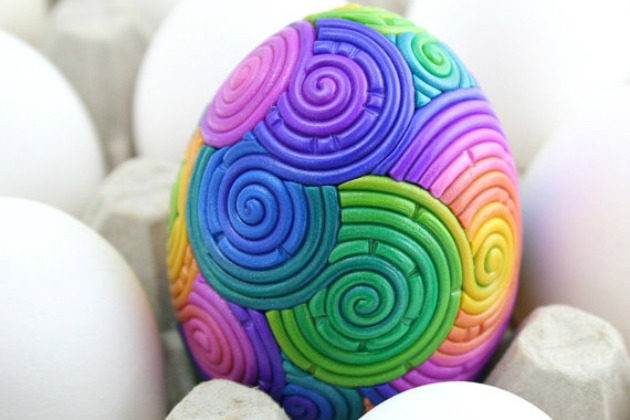 Rainbow-Easter-Egg
