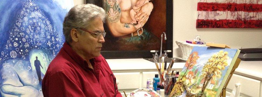 Maler Sergio Portillo