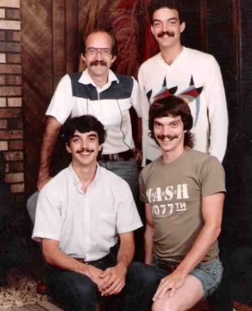 mustache-family