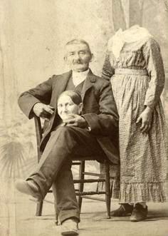 Странные фотографии викторианской эпохи