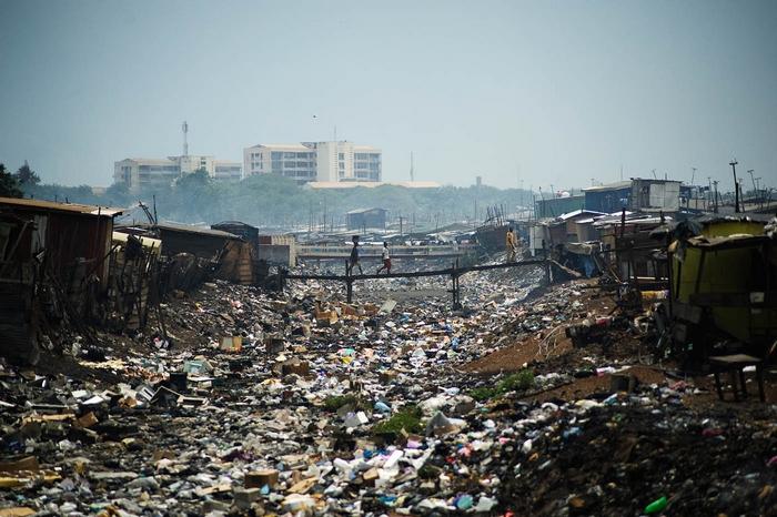 Свалка Агбогблоши Гана