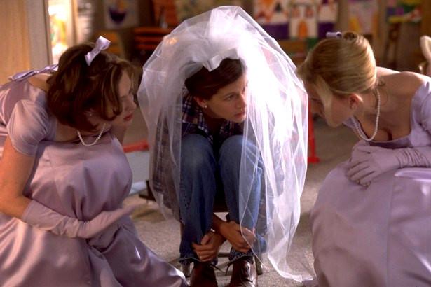 """Кадр из фильма """"Сбежавшая невеста""""."""