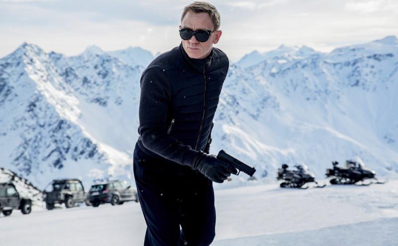 """Кадр из нового фильма про Бонда """" 007: СПЕКТР"""""""