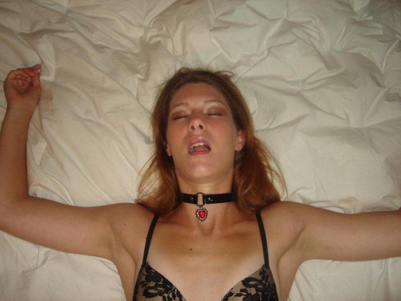 Лица тёлок во время оргазма