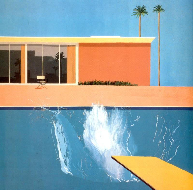 """""""Большой всплеск"""", художник Дэвид Хокни, 1967 г."""