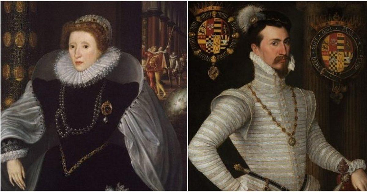 Драматическая история любви королевы-девственницы Елизаветы I и Роберта Дадли