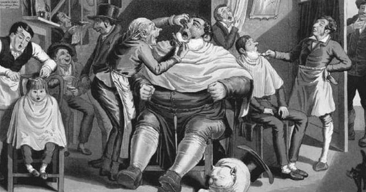 10фактов о стоматологии прошлого, после которых лечить зубы уже не страшно