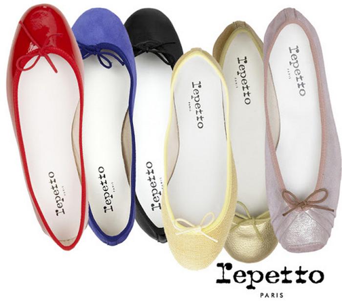 Компания Repetto из Франции прославилась на весь мир комфортной обувью на плоской подошке.