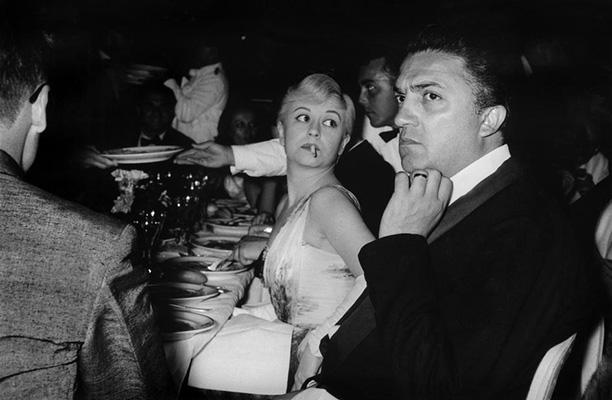 Прием на Каннском кинофестивале, 1957