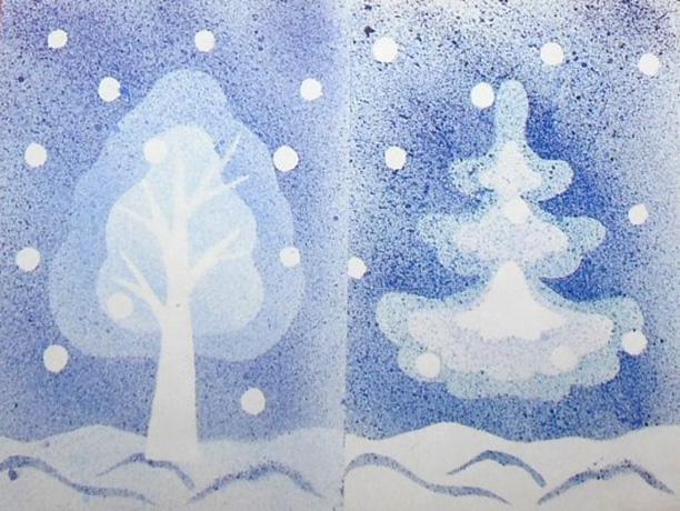 Ирины днем, открытки в нетрадиционной технике рисования